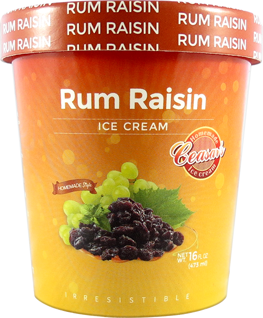 Rum Raisin Ice Cream